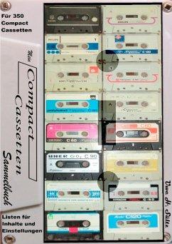 Mein Compact-Cassetten-Sammelbuch/Notizbuch mit Inhaltsverzeichnis
