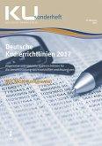 Deutsche Kodierrichtlinien mit MDK-Kommentierung 2017