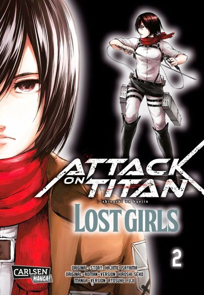 Buch-Reihe Attack on Titan - Lost Girls