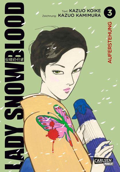 Buch-Reihe Lady Snowblood