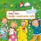 Sing mal (Soundbuch): Lieder rund ums Jahr