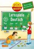 Basiswissen Grundschule: Lernspiele Deutsch / Pixi Wissen Bd.98