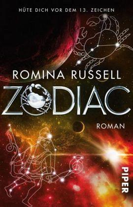 Buch-Reihe Zodiac von Romina Russell
