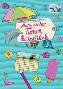 Mein dicker Ferien-Rätselblock 05 - Busch, Nikki