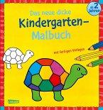 Das neue, dicke Kindergarten-Malbuch: Mit farbigen Vorlagen und lustiger Fehlersuche
