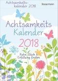 Achtsamkeitskalender 2018 - Abreißkalender
