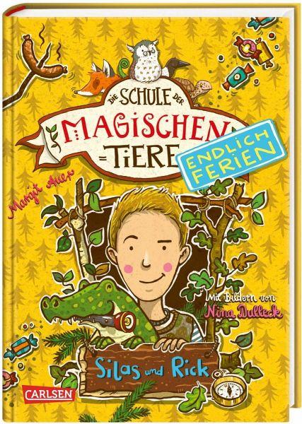 Silas und Rick / Die Schule der magischen Tiere - Endlich Ferien Bd.2 - Auer, Margit