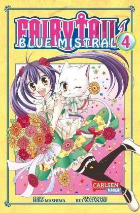 Buch-Reihe Fairy Tail Blue Mistral