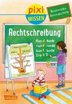 Basiswissen Grundschule: Rechtschreibung / Pixi Wissen Bd.96