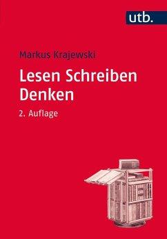 Lesen Schreiben Denken (eBook, ePUB) - Krajewski, Markus