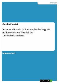 Natur und Landschaft als ungleiche Begriffe im historischen Wandel der Landschaftsmalerei (eBook, PDF)