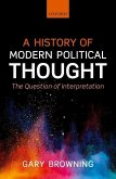 A History of Modern Political Thought (eBook, ePUB)