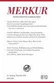 MERKUR Deutsche Zeitschrift für europäisches Denken - 2016-11 (eBook, ePUB)