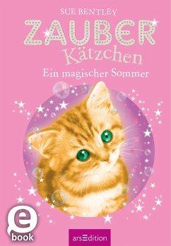 Ein magischer Sommer / Zauberkätzchen Bd.1 (eBook, ePUB) - Bentley, Sue