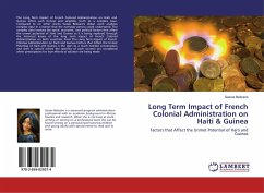 Long Term Impact of French Colonial Administration on Haiti & Guinea