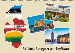 9783665515065 - Kirsch, Gunter: Entdeckungen im Baltikum (Wandkalender 2017 DIN A2 quer) - Buch