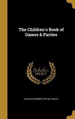 CHILDRENS BK OF GAMES & PARTIE