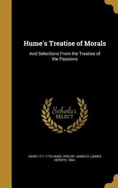 HUMES TREATISE OF MORALS