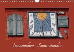 9783665527563 - Sonnenuhren - Sonnenstunden (Wandkalender 2017 DIN A4 quer) - Kniha