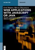 Developing Web Applications with UML and Javascript or Java
