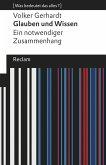 Glauben und Wissen (eBook, ePUB)