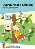 Quer durch die 3. Klasse, Mathe und Deutsch - Übungsblock (eBook, PDF)