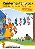 Kindergartenblock - Verbinden, vergleichen, Fehler finden ab 4 Jahre (eBook, PDF)