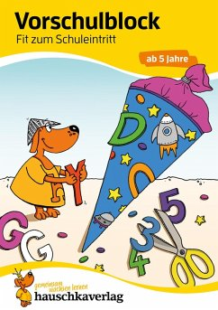 Vorschulblock - Fit zum Schuleintritt ab 5 Jahre (eBook, PDF) - Bayerl, Linda