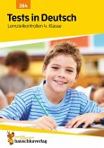 Tests in Deutsch - Lernzielkontrollen 4. Klasse (eBook, PDF)