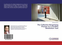 The Collective Bargaining Process as a Conflict Resolution Tool