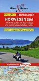 Biker Betten - Tourenkarte Norwegen Süd