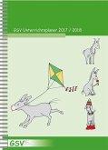 GSV Unterrichtsplaner für Grundschullehrer (DIN A5) 2017/18