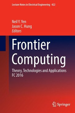 9789811031861 - Herausgegeben von Yen, Neil Y.; Hung, Jason C: Frontier Computing - Book
