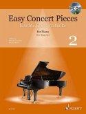 Easy Concert Pieces. Klavier Band 2. Ausgabe mit CD