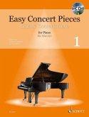 Easy Concert Pieces, für Klavier, m. Audio-CD