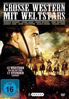 Große Western mit Weltstars (6 Discs)
