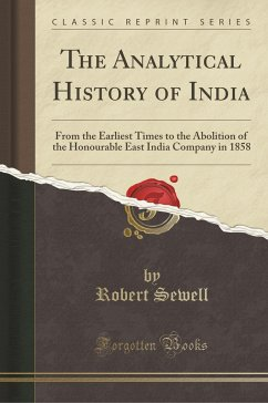 The Analytical History of India