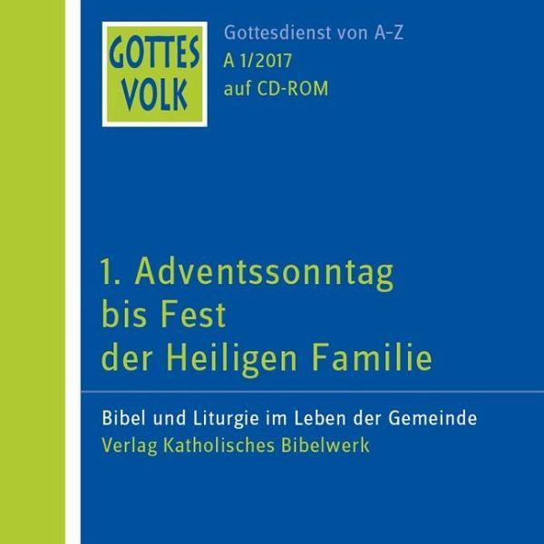 1. Adventssonntag Bis Fest Der Heiligen Familie, 1
