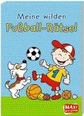 Meine wilden Fußball-Rätsel (Mängelexemplar)