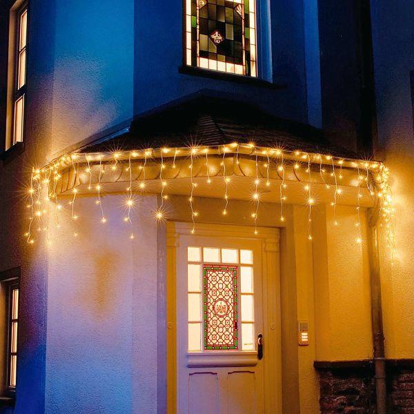 led lichtervorhang eisregen 96 dioden portofrei bei b. Black Bedroom Furniture Sets. Home Design Ideas