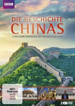 Die Geschichte Chinas - 2 Disc DVD - Wood,Michael