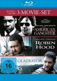 Russell Crowe Collection: American Gangster, Robin Hood, Gladiator Bluray Box