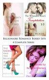 Billionaire Romance Boxed Sets: The Billionaire's Pregnant Secretary\The Billionaire Boss's Temptation\The Shopaholic and the Billionaire\Claimed by the Alpha Billionaire (4 Complete Series) (eBook, ePUB)