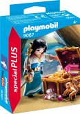 PLAYMOBIL® 9087 Piratin mit Schatztruhe