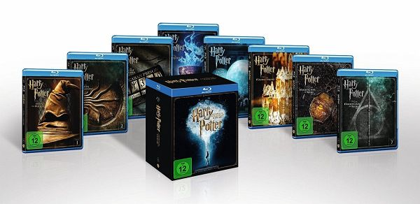 Harry Potter - The Complete Collection Bluray Box