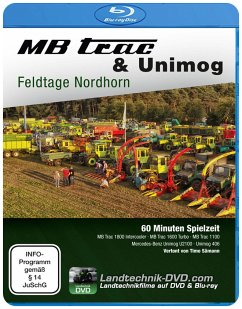 MB Trac & Unimog Feldtage Nordhorn, 1 Blu-ray