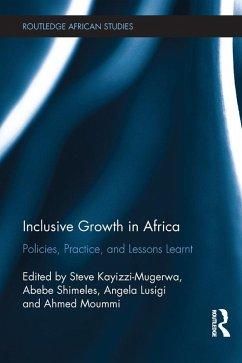 Inclusive Growth in Africa (eBook, PDF)