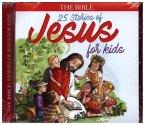 25 Stories of Jesus for Kids, 1 Audio-CD