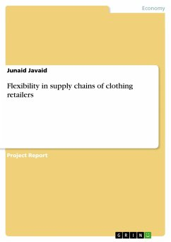 Flexibility in supply chains of clothing retailers