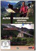 Wandern über die Alpen - Südtirol Von Meran zum Gardasee. Tl.2, 1 DVD
